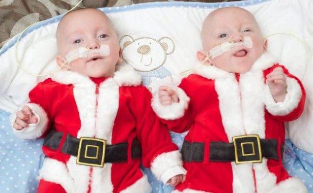Born at only 23 weeks ... adorable twins