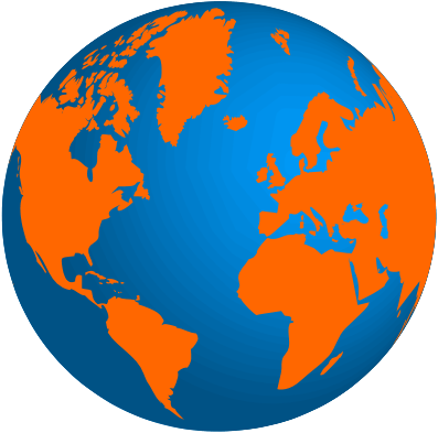 Globe_terrestre_Orange_te_Bleu