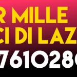 5 per MILLE: scrivi 97610280014  per AMICI DI LAZZARO