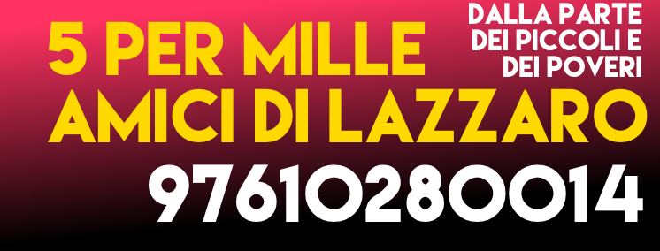 banner 5 per mille 2016