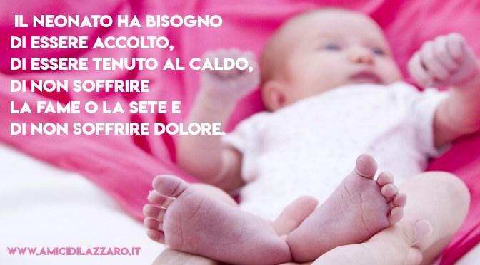 Cura e accompagnamento del neonato fragile e dei genitori (parte 1)