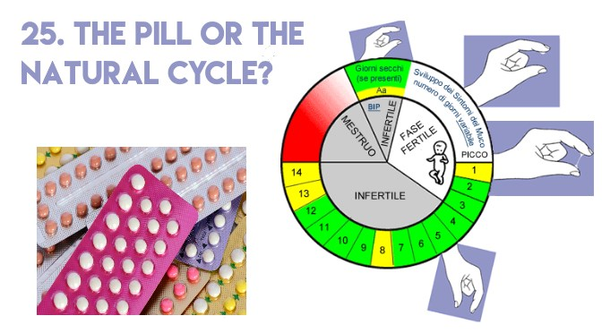 25. The Pill or the Natural Cycle?