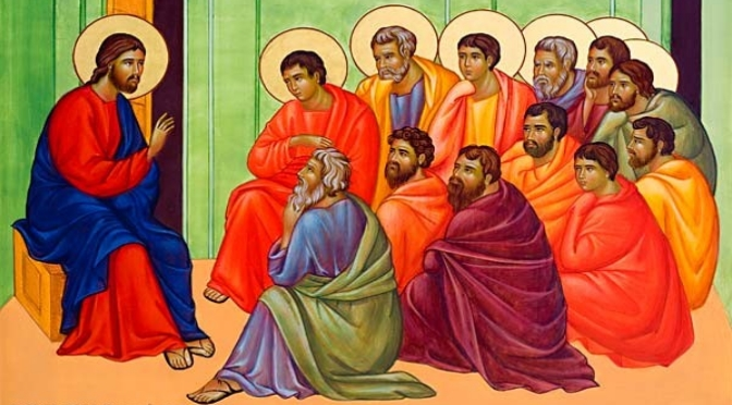 The apostles, witnesses of Christ (Benedict XVI)