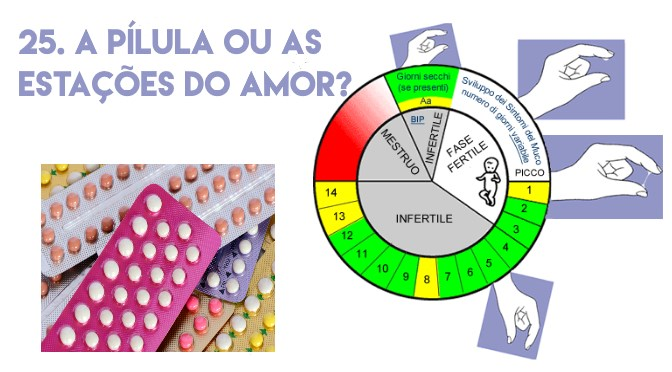 25. A pílula ou as estações do amor?