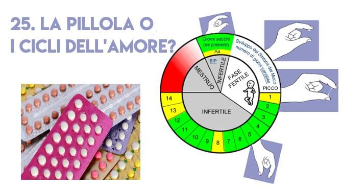 25. La pillola o i cicli dell'amore?