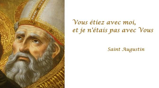 Je Vous ai aimée tard Dieu (Saint Augustin)