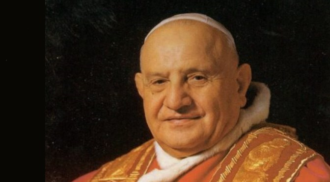 Only for today - Pope John XXIIII