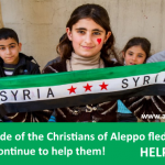 The gratitude of the Christians of Aleppo fled to Lebanon.