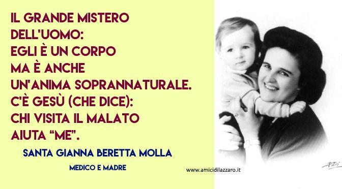 La bellezza della missione del medico (Santa Gianna Beretta Molla)