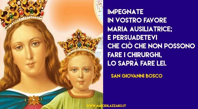 Le più belle frasi di Don Bosco su Maria Ausiliatrice
