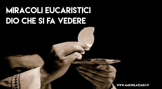 Elenco dei principali miracoli eucaristici