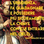 Lettera sull'obbedienza (Sant'Ignazio di Loyola, 29 luglio 1547)