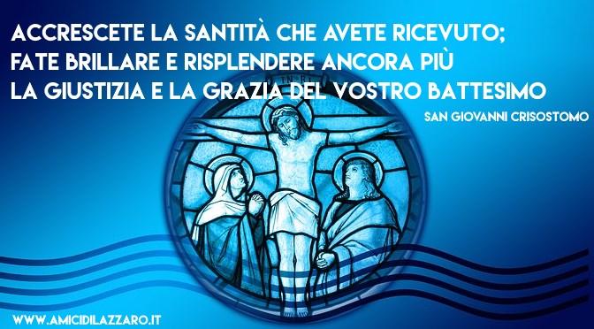 Catecumenato. Rinascere con il Battesimo (12/16)