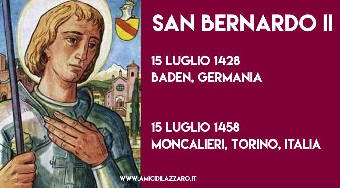 Cronaca degli avvenimenti della vita e devozione di San Bernardo di Baden