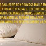 La sedazione profonda non è eutanasia