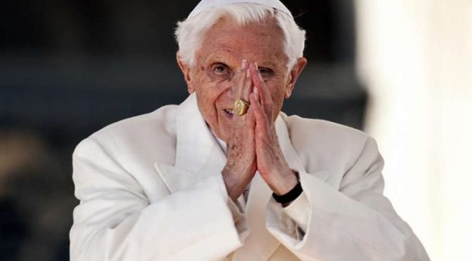 "Benedict XVI: ""I am on a pilgrimage Home"" (2018)"