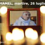 Il martire Padre Hamel ricordato dalla sorella