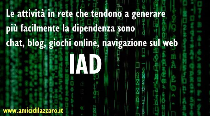 IAD ovvero Dipendenza da Internet