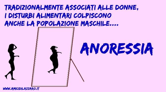 Il lato nascosto (e maschile) dell'anoressia