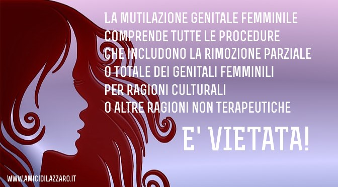 Cosa sono le Mutilazioni Genitali Femminili?