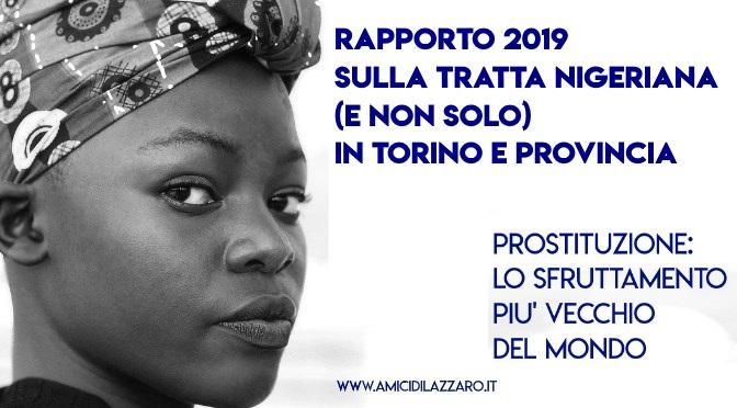 Rapporto 2019 sulla tratta nigeriana (e non solo) in Torino e provincia