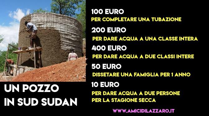 Per la Quaresima, costruiamo un pozzo in SUD Sudan