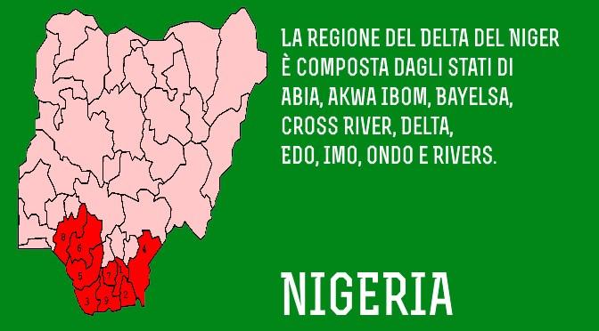 Situazione politica nigeriana: la Regione del Delta del Niger