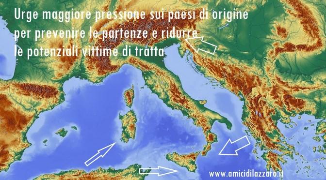 Legislazioni nazionali sulla tratta: Italia