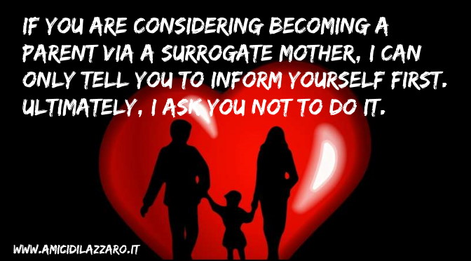If You are Considering Becoming a Parent by Surrogacy, You Need this Information