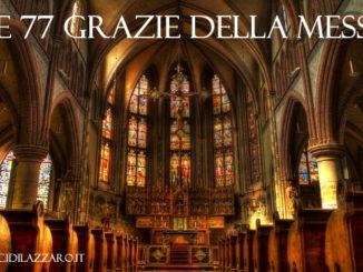 Le 77 grazie della Messa