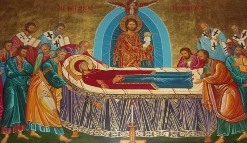 The Dormition of the Mother of God (Saint John Paul II)