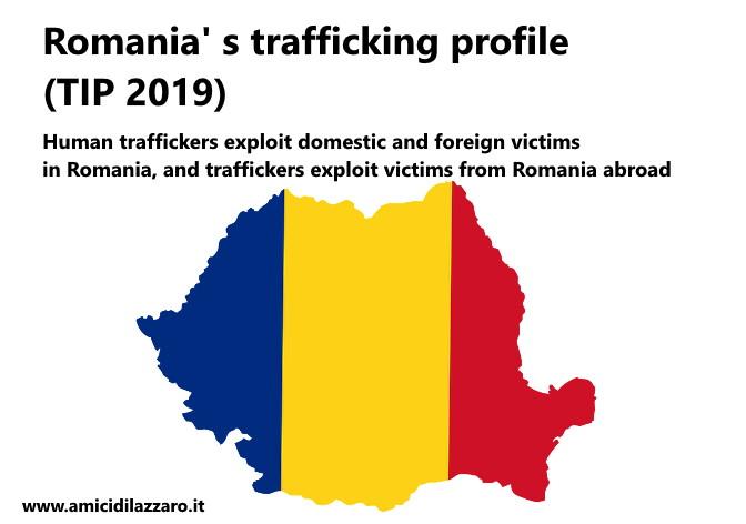 Romania' s trafficking profile (TIP 2019)