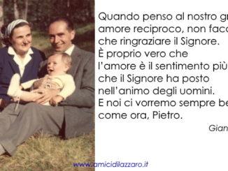 Lettera di Santa Gianna Beretta Molla al futuro marito Pietro