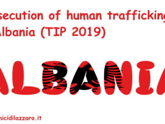 Prosecution of human trafficking in Albania (TIP 2019)