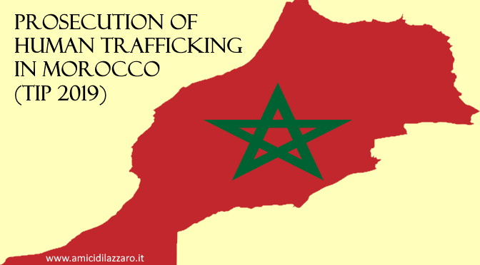 Prosecution of human trafficking in Morocco (TIP 2019)