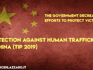 Protection against human trafficking in China (TIP 2019)