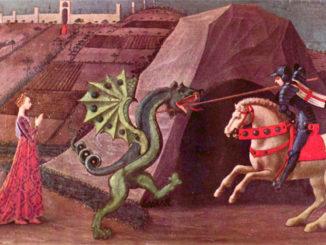 Chiunque diventi genitore accetta di poter diventare San Giorgio che si batte contro il drago (Silvana De Mari)