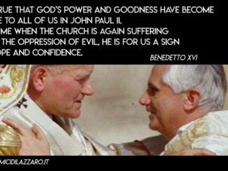 Letter for the 100 years of the birth of Saint John Paul II (Benedict XVI)